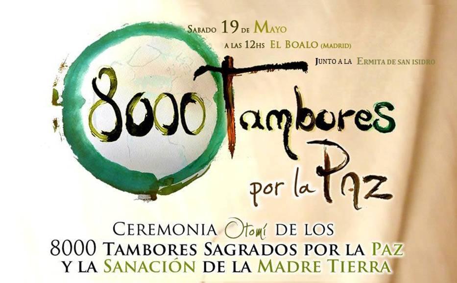800 tambores por la paz, ceremonia de sanación de la madre tierra