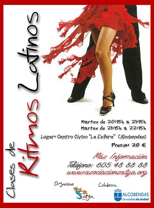 Clases baratas de ritmos latinos salsa merengue bachata kizomba chachaha en alcobendas